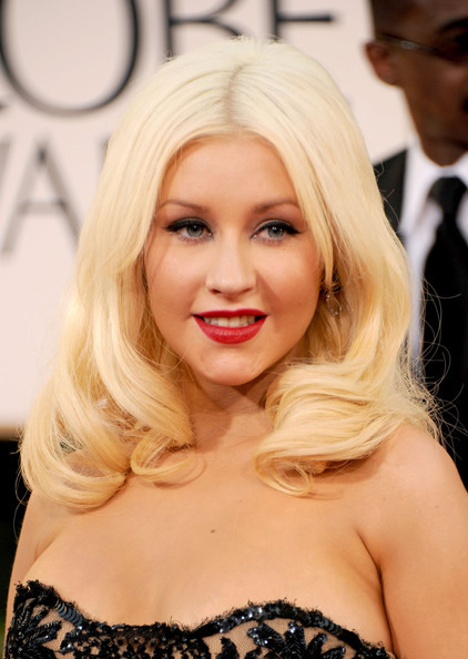 christina aguilera 2011 golden globes. Christina Aguilera Hair