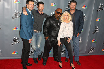 Christina Aguilera Cee-Lo Green 'The Voice' Season 5 Top 12 Event