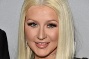 Christina Aguilera Long Straight Cut