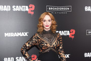 Christina Hendricks Box Clutch