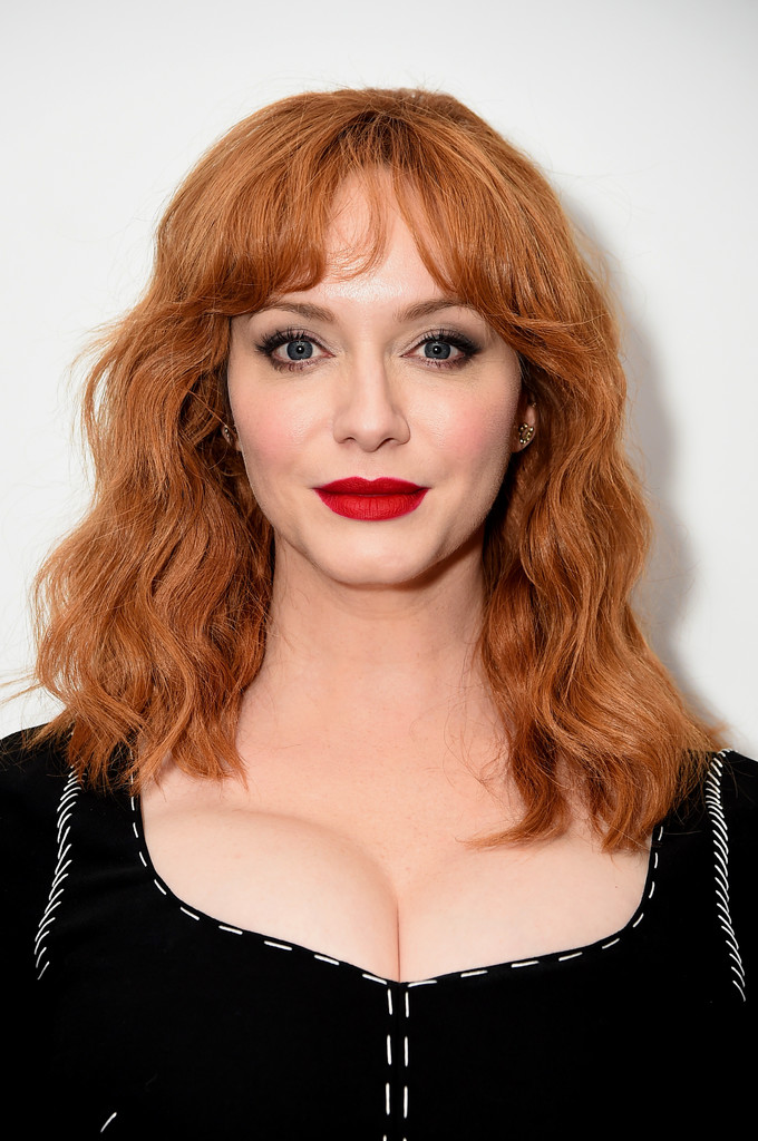 Christina Hendricks Red Lipstick Beauty Lookbook
