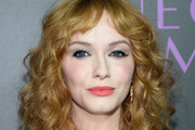 Christina Hendricks Medium Curls with Bangs