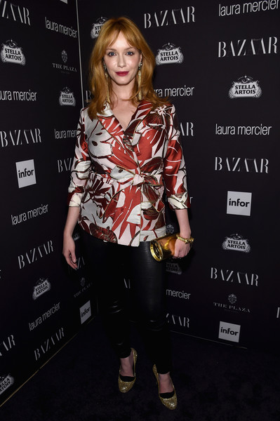 Christina Hendricks Fitted Jacket
