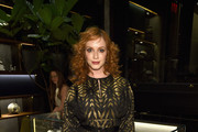 Christina Hendricks Tube Clutch