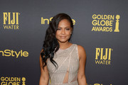 Christina Milian Beaded Dress