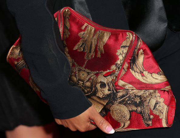 Christina Milian Printed Clutch