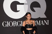Christina Milian Crop Top