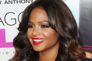 Christina Milian Long Wavy Cut