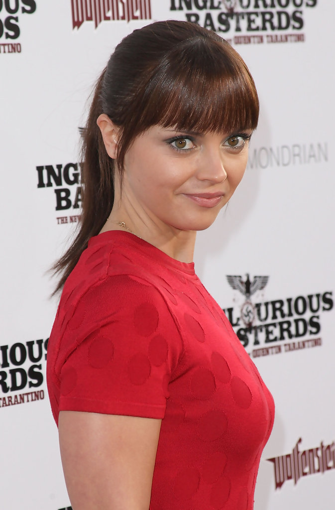 Christina Ricci Ponytail Christina Ricci Hair Looks