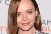 Christina Ricci Long Side Part