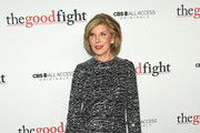 Christine Baranski Sequin Dress