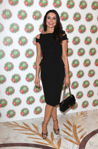 Christine Bleakley Little Black Dress
