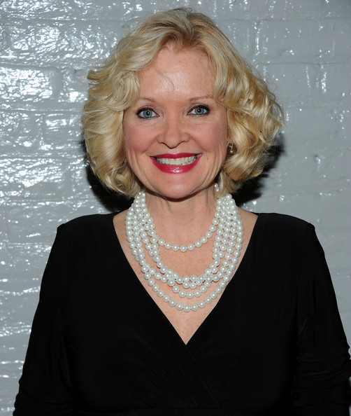 Christine Ebersole Curled Out Bob [hair,face,blond,hairstyle,chin,lip,smile,official,annual nightlife awards,town hall,new york city,christine ebersole]