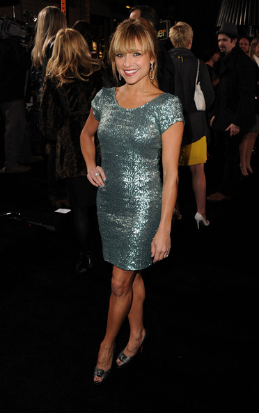 Christine Lakin Beaded Dress