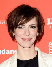 Rebecca Hall was edgy-chic with her textured bob at the Sundance Film Festival premiere of 'Christine.'