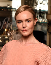 Kate Bosworth looked simply elegant with her sleek ponytail at the launch of Idole de Christofle.
