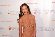 Model Selita Ebanks attends the Christopher & Dana Reeve Foundation's A Magical Evening 20th Anniversary Gala at The New York Marriott Marquis on November 17, 2010 in New York City.