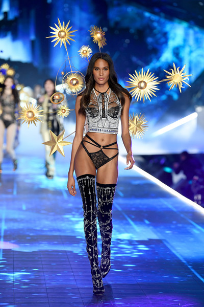 Cindy Bruna Over the Knee Boots [fashion model,fashion show,runway,catwalk,lingerie,fashion,model,competition,dancer,event,cindy bruna,victorias secret fashion show,new york,runway,runway,pier 94]
