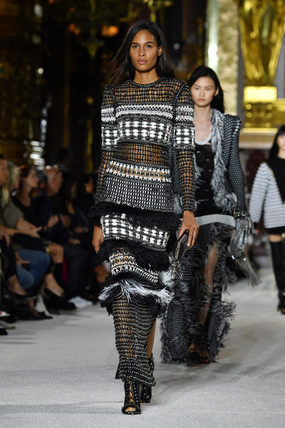 Cindy Bruna Fringed Dress
