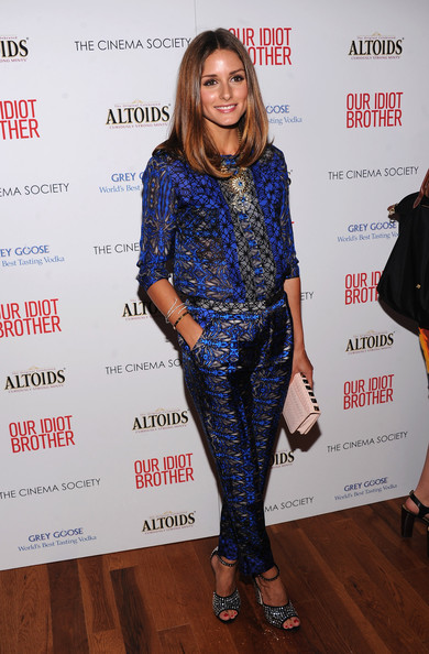 Olivia+Palermo in The Cinema Society & Altoids Host A Screening Of