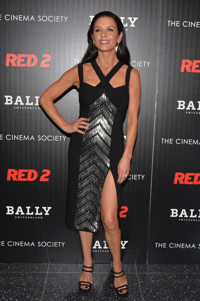 More Pics of Catherine Zeta-Jones Cocktail Dress (1 of 4) - Catherine Zeta-Jones Lookbook - StyleBistro