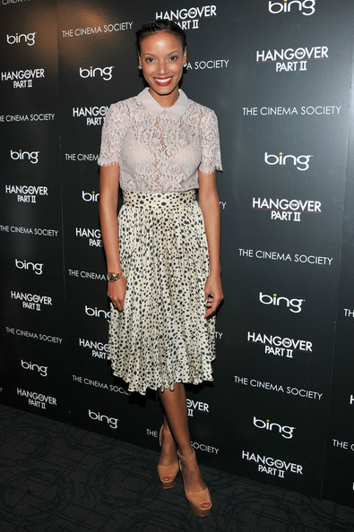 More Pics of Selita Ebanks Braided Bun (1 of 3) - Selita Ebanks Lookbook - StyleBistro