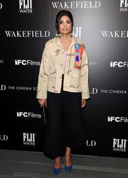 Rachel Roy donned an embroidered camo jacket for the screening of 'Wakefield.'