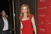 Actress Nicole Kidman attends the Cinema Society with Ivanka Trump Jewelry & Diane Von Furstenberg screening of