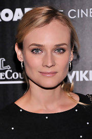 Diane Kruger chose a simple but classic ponytail for her look at 'The Host' screening in NYC.