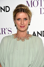 Nicky Hilton looked like a fairytale princess with this crown braid at the screening of 'Mother's Day.'