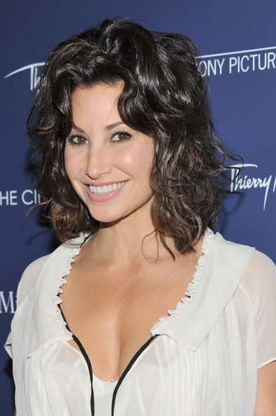 Gina Gershon's High-Shine Strands