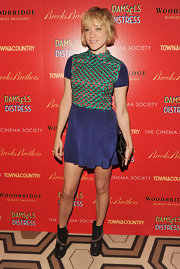 Chloe Sevigny always marches to the beat of her own fashion drum. For the 'Damsel in Distress' screening, she wore this flirty sequined dress.