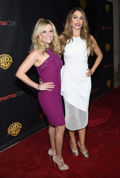 Reese Witherspoon and Sofia Vergara at Warner Bros. Pictures Invites You To 'The Big Picture,' An Exclusive Presentation Highlighting The Summer Of 2015 And Beyond