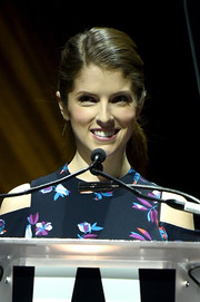 Anna Kendrick kept it simple and youthful with this ponytail during CinemaCon.