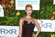 Claire Danes Embroidered Dress