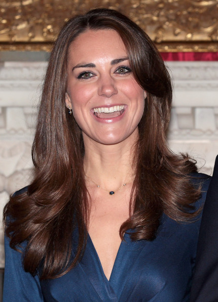 More Pics of Kate Middleton Cocktail Dress (3 of 45) - Kate Middleton Lookbook - StyleBistro [photographs,hair,face,hairstyle,brown hair,eyebrow,long hair,layered hair,smile,beauty,chin,prince william,kate middleton,couple,clarence house announce the engagement of prince william,engagement,speculation,air sea rescue pilot,state apartments of st james palace,england]