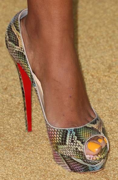 Claudia Jordan Shoes