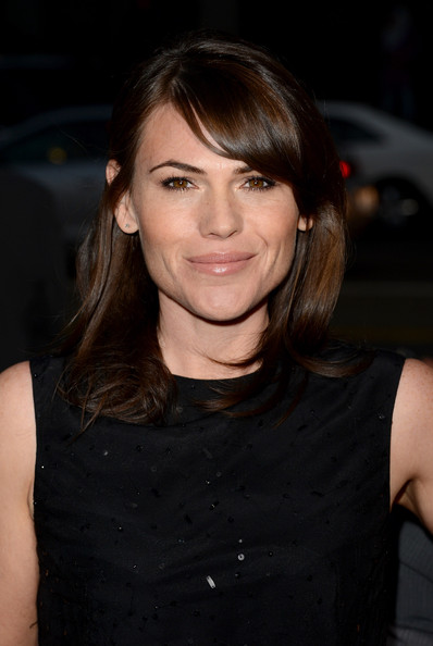 Clea DuVall Medium Straight Cut with Bangs