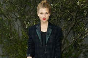 Clemence Poesy Wool Coat