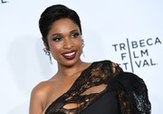 Jennifer Hudson attended the 'Clive Davis: The Soundtrack of Our Lives' premiere concert wearing her hair in a neat boy cut.