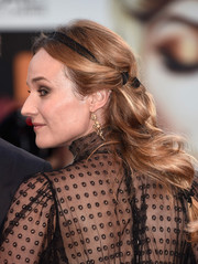 Diane Kruger looked angelic wearing this loose, segmented ponytail at the Venice Film Festival closing ceremony.