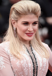 Hofit Golan teased her blonde locks into a towering pompadour for the Cannes closing ceremony.