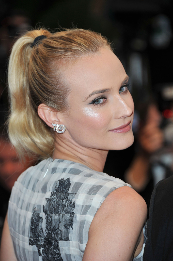 "Jury member actress Diane Kruger attends the Closing Ceremony and ""Therese Desqueyroux"" premiere during the 65th  Annual Cannes Film Festivalon May 27, 2012 in Cannes, France."