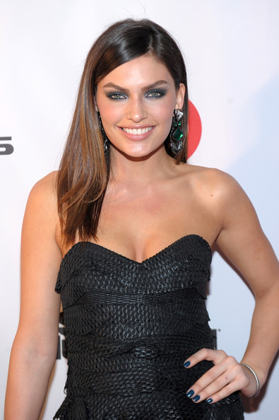 More Pics of Alyssa Miller  Dangling Gemstone Earrings (2 of 5) - Alyssa Miller  Lookbook - StyleBistro