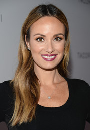 Catt Sadler looked stunning with her center-parted wavy 'do at the Club Tacori event.