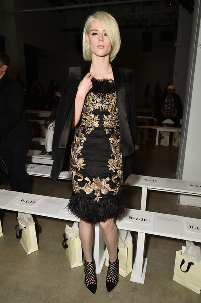 Coco Rocha Embroidered Dress