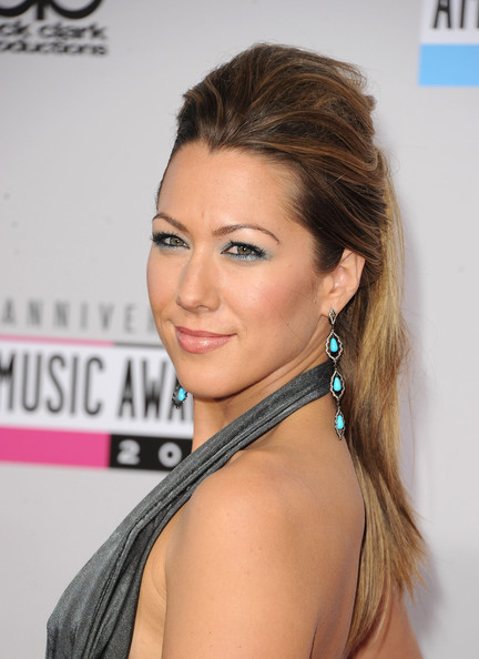 Colbie Caillat Loose Ponytail