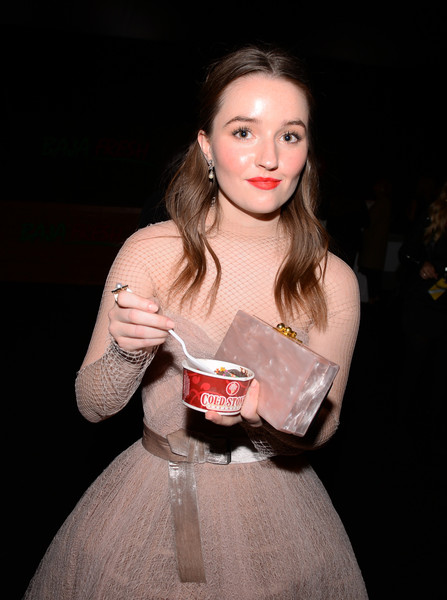 More Pics of Kaitlyn Dever Box Clutch (1 of 2) - Clutches Lookbook - StyleBistro [lip,hand,dress,drink,flash photography,drinking,style,kaitlyn dever,critics choice awards,cold stone creamery,santa monica,california,kaitlyn dever,critics choice awards ceremony,the barker hangar,hollywood palladium,producers guild of america award,the 25th,producers guild of america,photograph,fashion,livingly media]