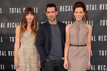 "Colin Farrell Jessica Biel Photo Call For Columbia Pictures' ""Total Recall"""