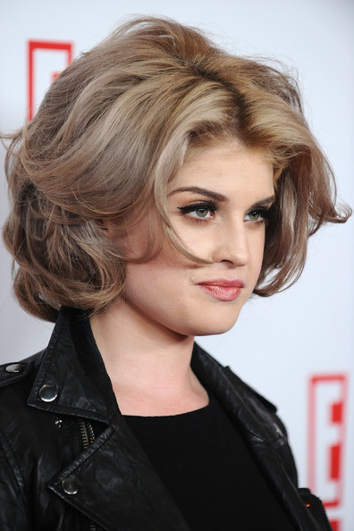 More Pics of Kelly Osbourne Short Curls (1 of 12) - Short Hairstyles Lookbook - StyleBistro